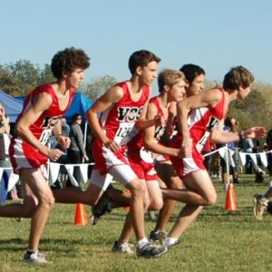 boys cross country start 2010 (2)
